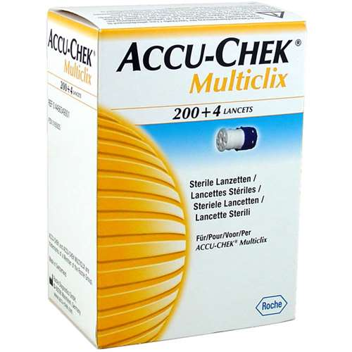 Image of Accu-Chek Multiclix 200-4 lancets