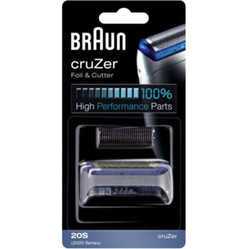 Image of Braun 2000 Series Foil and Cutter Pack (Cruzer)