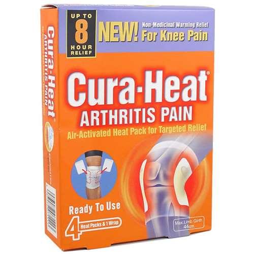 Image of Cura-Heat Arthritis Pain for Knee (4 pads)