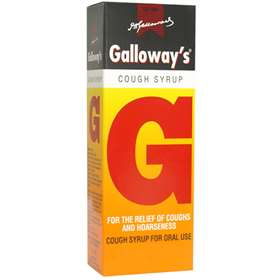 Galloways Cough Syrup Original 75ml
