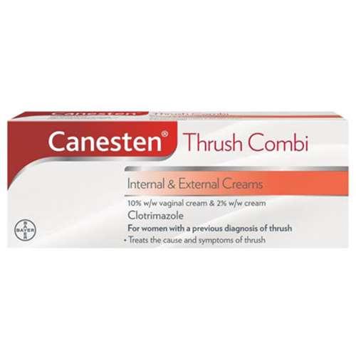 Image of Canesten Cream Combi Internal and External Creams