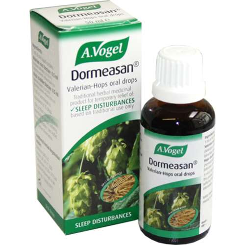 Stockists of A. Vogel Dormeasan Valerian-Hops Complex 50ml