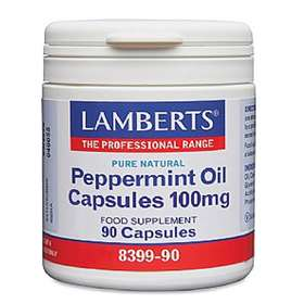 Lamberts Peppermint Oil Capsules 100mg (90)