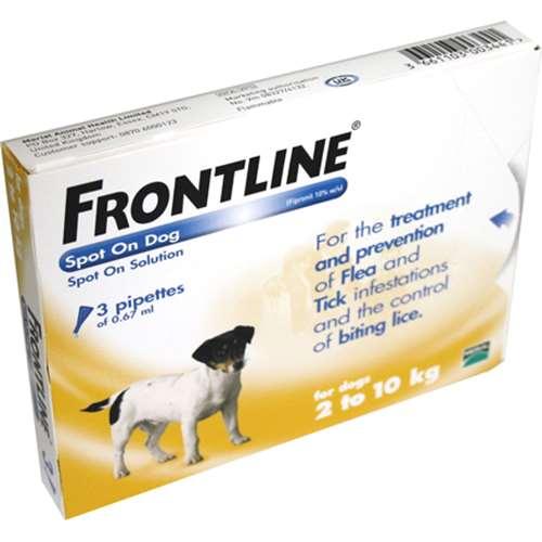 Frontline Spot On Dog 210kg 3