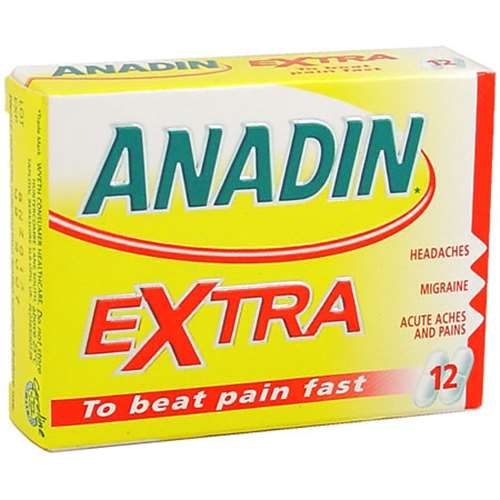 Image of Anadin Extra Caplets (12)