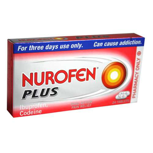 Nurofen Plus tablets (24)