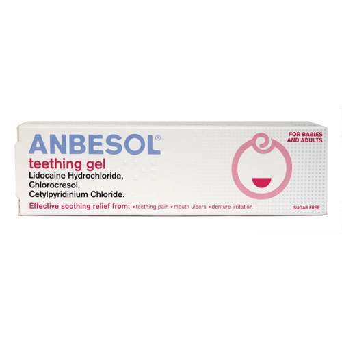 Image of Anbesol Teething Gel 10g