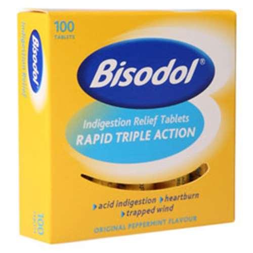 Bisodol Indigestion Relief Tablets (100)