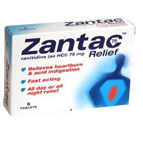 Zantac 75 Relief Tablets 6