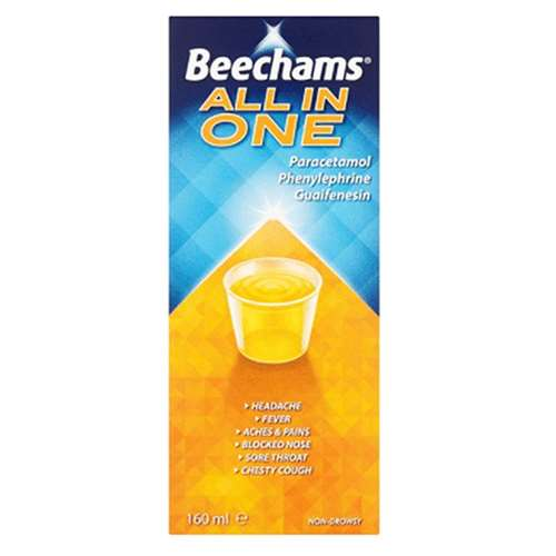 Image of Beechams All In One 160ml