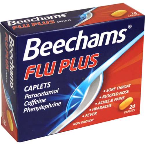 Image of Beechams Flu Plus Caplets 24