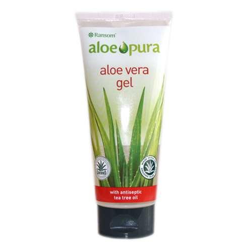 Image of Aloe Pura Aloe Vera Gel with Tea Tree 200ml