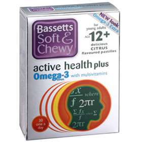 Bassetts Soft & Chewy Active Health Multivitamins plus Omega 3 30