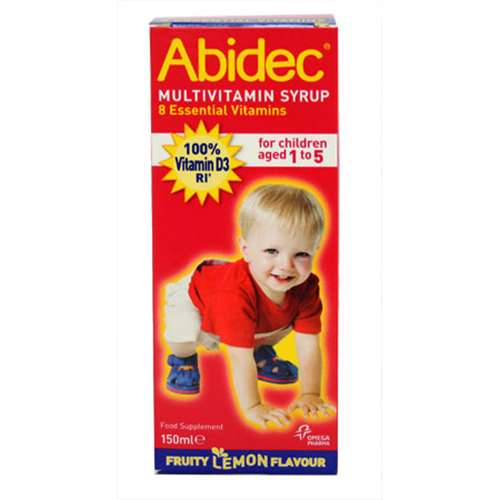 Image of Abidec Multivitamin Syrup with Omega 3 150ml