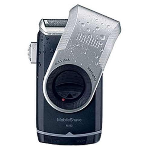 Image of Braun Pocket Go M90 Washable Battery Travel Shaver