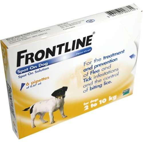 Frontline Spot On Dog 210kg 6