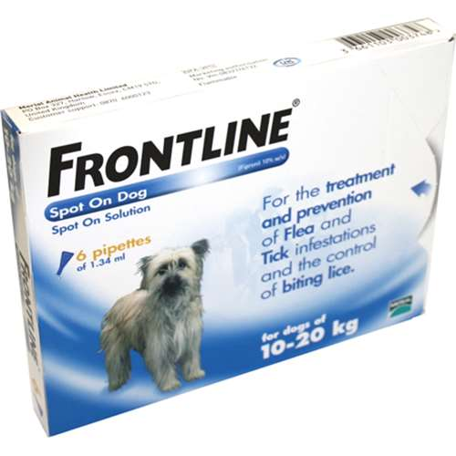 Frontline Spot On Dog 1020kg 6