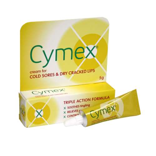 Image of Cymex Cream for Cold Sores 5g