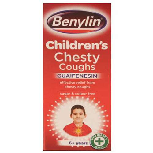 Image of Benylin Children's Chesty Coughs 6+ 125ml