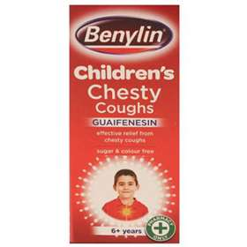 Benylin Children's Chesty Coughs 6+ 125ml