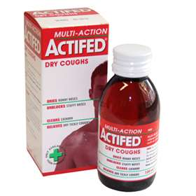 Multi-Action Actifed Dry Coughs 100ml