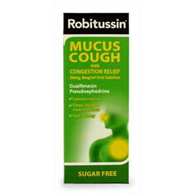 Robitussin Mucus Cough and Congestion Relief 100ml