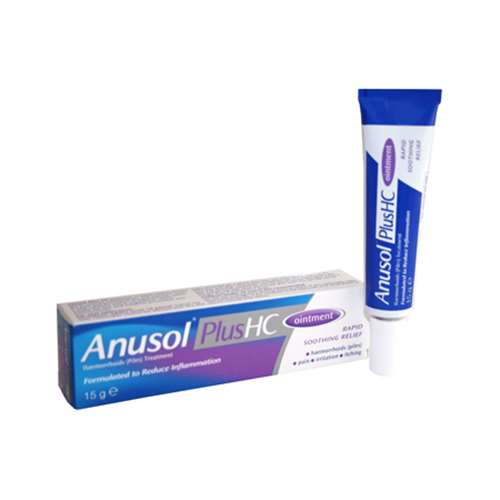 Image of Anusol Plus HC Ointment 15g
