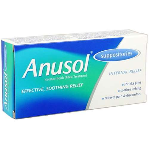 Image of Anusol Suppositories (12)
