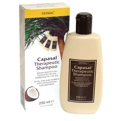 Image of Capasal Therapeutic Shampoo 250ml