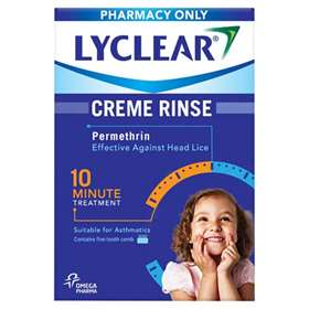 Lyclear Creme Rinse Twin Pack