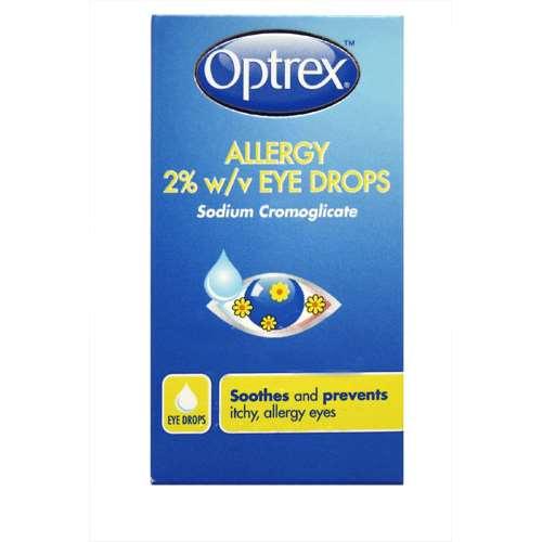 Image of Optrex Allergy Eye Drops 10ml