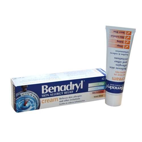Benadryl Skin Allergy Relief Cream 42g - ExpressChemist co