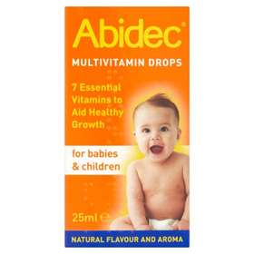 Abidec Multivitamin Drops 25ml