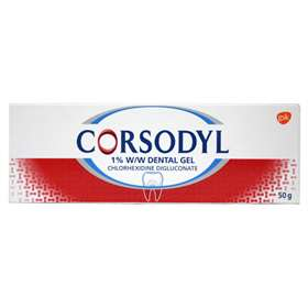 Corsodyl Dental Gel 50g