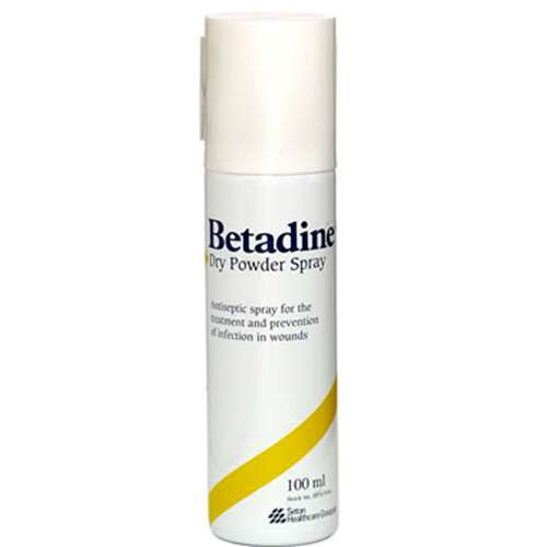 Image of Betadine Dry Powder Spray 100ml