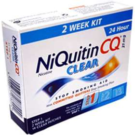 Niquitin CQ Clear Step 1 21mg 14 patches