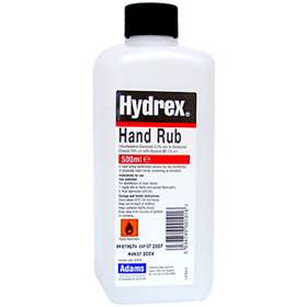 Hydrex Hand Rub 500ml bottle