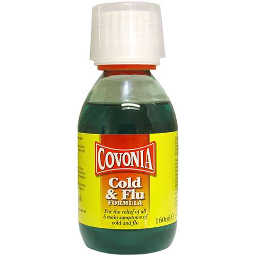 Image of Covonia Cold & Flu Formula 160ml