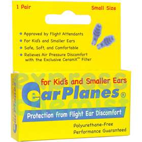 Earplanes for Children Ages 1-10yrs