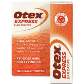 Otex Express Ear Drops 10ml - ExpressChemist co uk - Buy Online