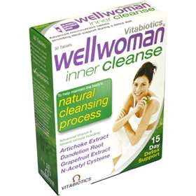 Wellwoman Inner Cleanse Tablets 30