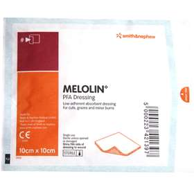 Smith and Nephew Melolin PFA Dressing (10cm x 10cm) (1 Dressing)