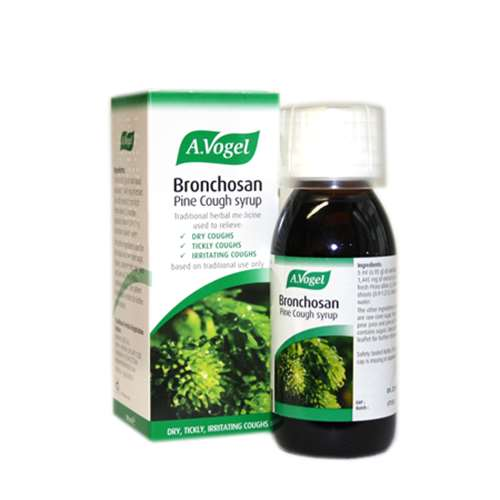 Stockists of A.Vogel Bronchosan Pine Cough Syrup 100ml