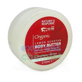 Nature's Response Lemon Scented Body Butter 210ml