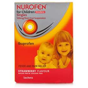 Nurofen for Children Strawberry Singles (8)