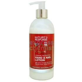 Nature's Response Lemon Scented Hand & Nail Lotion 300ml
