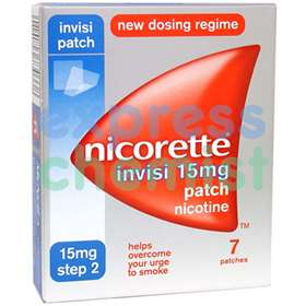 Nicorette Invisi Patches Step 2 - 15mg  (7)