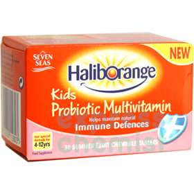 Haliborange Probiotic Multivitamin for Kids Chewable Tablets (30)