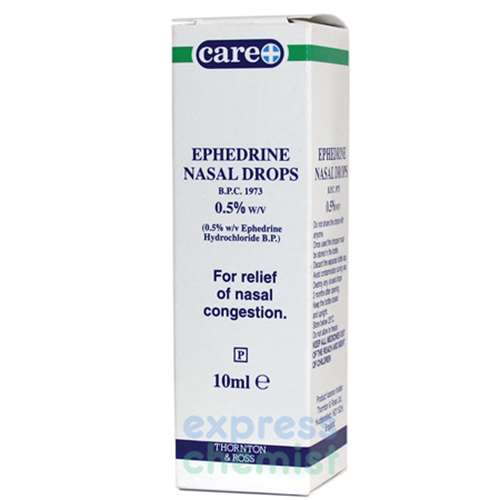 Image of Care Ephedrine Nasal Drops 0.5% 10ml