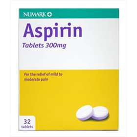 Numark Aspirin Tablets 300mg (32)